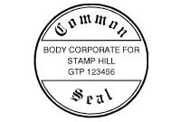 COM-03 Hand Stamp