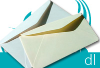DL - Metallic Envelopes