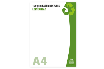 A4 100gsm Recycled Laser